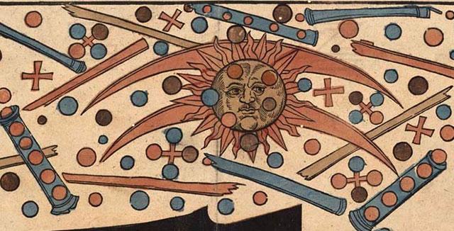 La batalla extraterrestre de Nuremberg , Alemania 1561