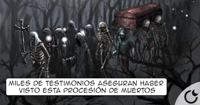 La Santa Compaña: PROCESIÓN de los muertos. Conoce los TÉTRICOS TESTIMONIOS AQUI