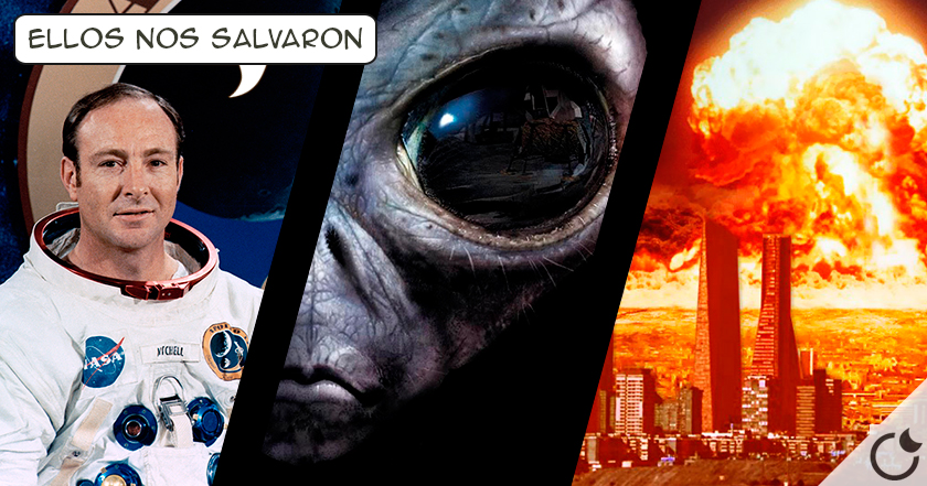 """""""Los extraterrestres nos salvaron de una guerra nuclear""""Afirma el astronauta Edgar Mitchell"""