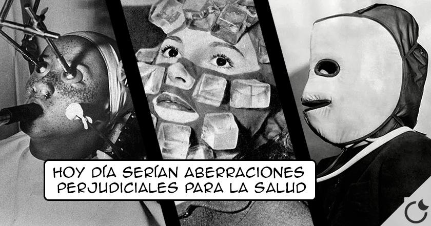 Las 14 TÉCNICA DE BELLEZA más ESCALOFRIANTES Y BIZARRAS de hace 100 AÑOS