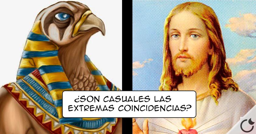 Horus vs Jesús ¿Quién copia a quién? ¿Obvio no?