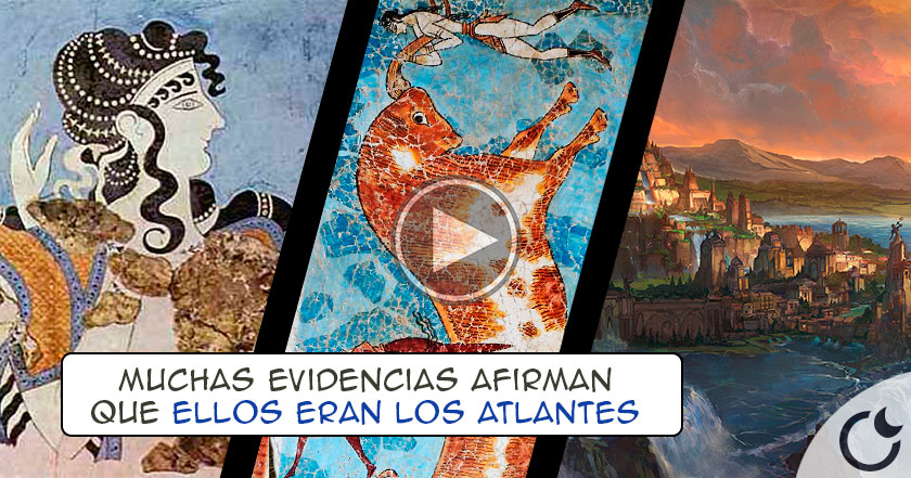 ¿Los minóicos eran LOS VERDADEROS ATLANTES? Teoría lo demuestra con HECHOS HISTÓRICOS
