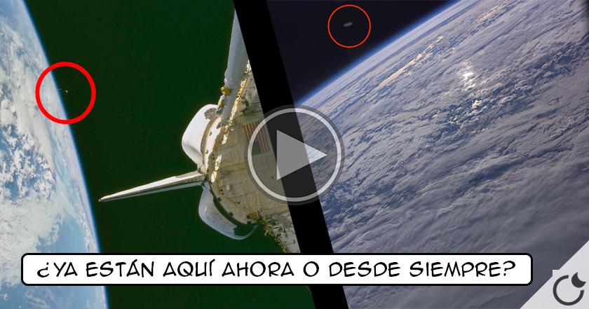 Por fin video REAL de la NASA: ¡¡LOS OVNIS YA ESTÁN AQUÍ!! (Espectacular video)