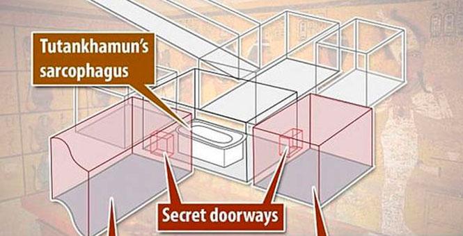 La búsqueda de cámaras secretas en la tumba de Tutankamón arroja sus primeros resultados