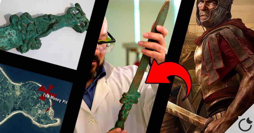 LOS ROMANOS llegaron a América 1000 AÑOS ANTES QUE COLÓN. Una espada LO ASEGURA