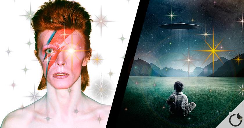 David Bowie: su fascinación por el tema extraterrestre.