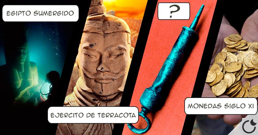 14 descubrimientos arqueológicos asombrosos del 2015.
