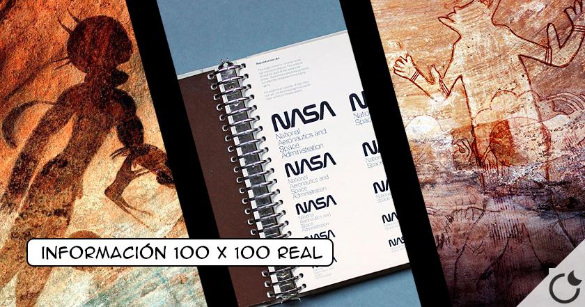 Un libro publicado por la NASA sugiere que cierto arte rupestre puede ser de origen extraterrestre
