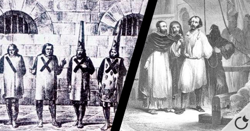 El mito de la Inquisición española: menos del 4% acababan en la hoguera.