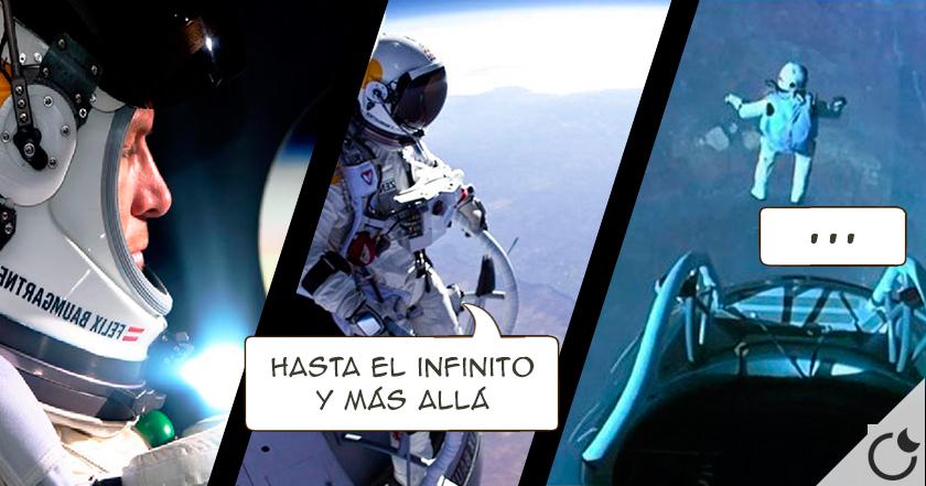 SALTO DESDE EL ESPACIO. Felix Baumgartner rompe el record (VIDEO)