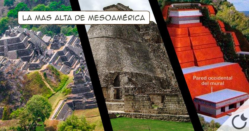 Descubren en Toniná pirámide más alta que la del Sol en Teotihuacán