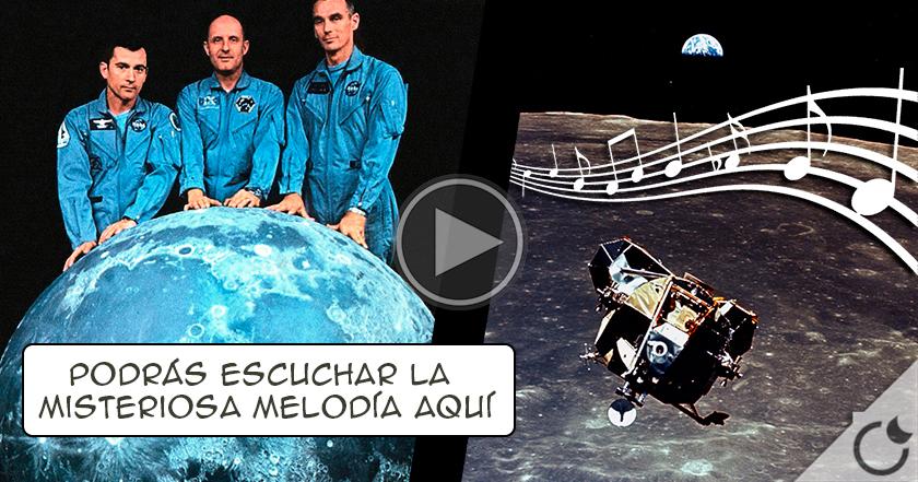 La MISTERIOSA MELODÍA que grabó APOLLO 10 en la CARA OCULTA de la luna. ¿QUE CREES QUE ES?