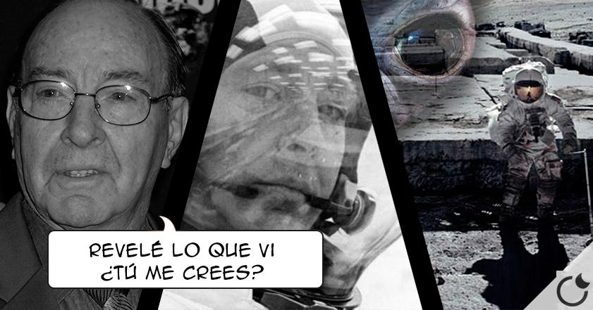 Edgar Mitchell ha muerto: el astronauta que defendió la vida EXTRATERRESTRE tras pisar la Luna.