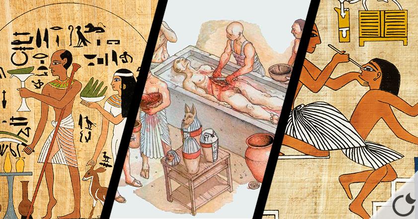 4 motivos que harán cambiar  tu idea sobre la medicina en el Antiguo Egipto