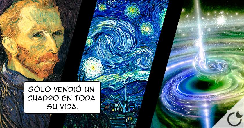 ¿ Podía VER Van Gogh las ONDAS GRAVITACIONALES en estado de psicosis ?