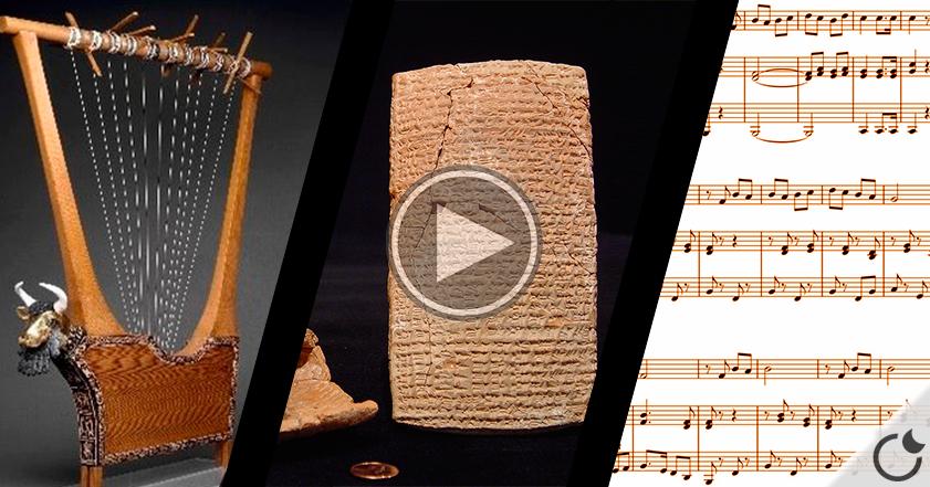 Recrean MILENARIA CANCIÓN SUMERIA de textos cuneiformes y TÚ la puedes oír AQUI