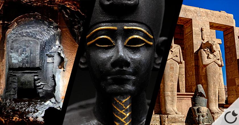 Tumba gemela a la de Osiris es encontrada en Luxor.