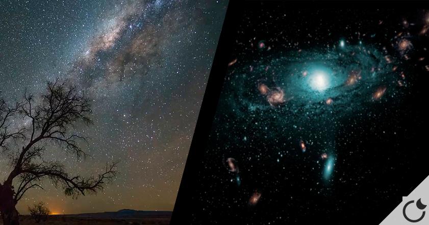 Galaxias escondidas detrás de la Vía Láctea: Un importantísimo descubrimiento.