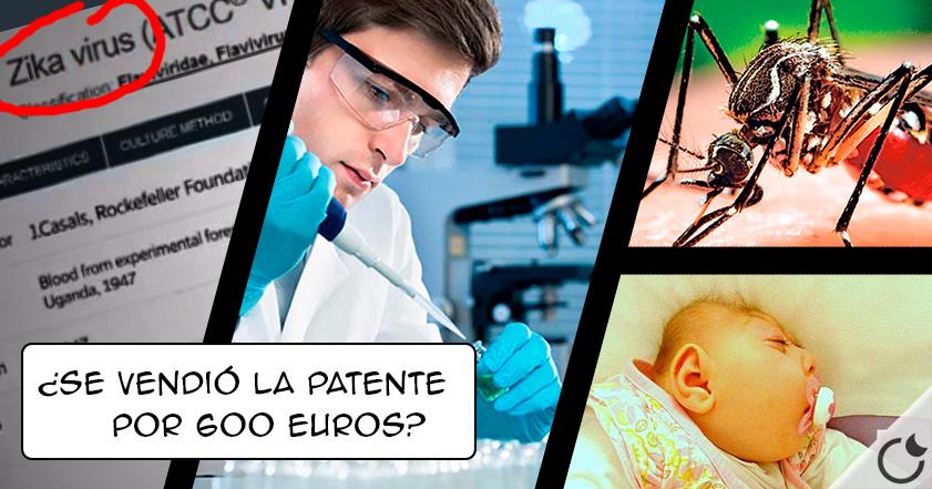 Virus Zika: ¿patentado para REDUCIR a la HUMANIDAD por 600 euros?
