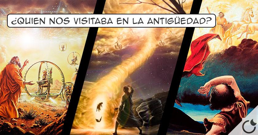 OVNIS Y EXTRATERRESTRES en LA BIBLIA ¿Seguro que era DIOS? Nosotros creemos que NO