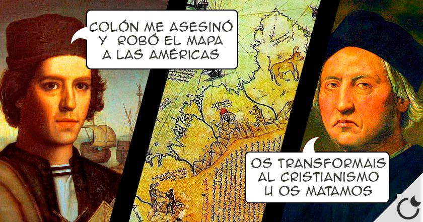La OSCURA historia de COLÓN y la FARSA del «DESCUBRIMIENTO» de América