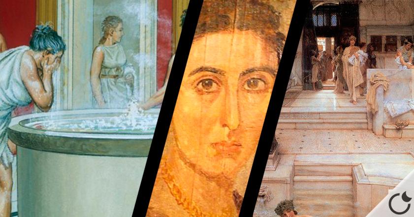 ¿Eran LIMPIOS y ASEADOS los romanos?