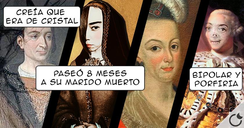 4 de los REYES más LOCOS DE LA HISTORIA y de los que NO os contaron NADA.