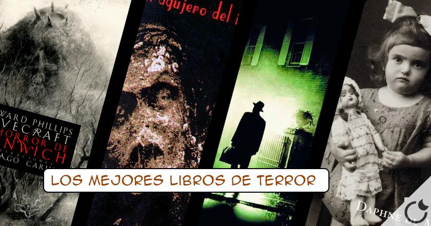 Los 100 mejores LIBROS de TERROR que si te gusta el misterio NO TE PUEDES PERDER