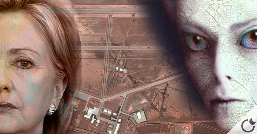 Hillary Clinton PROMETE romper el SECRETO sobre el ÁREA 51 si sale ELEGIDA