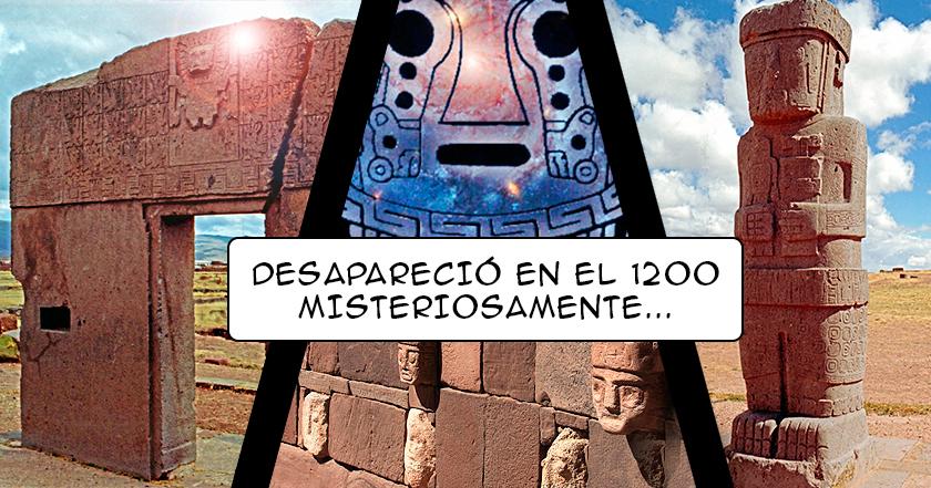 Tiahuanaco: sus HABITANTES DESAPARECIERON como por arte de magia ¿Qué los IMPULSÓ a hacerlo?