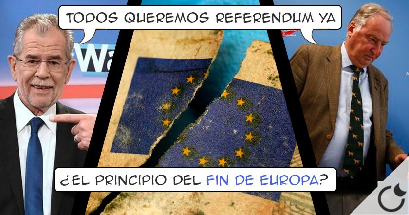 LA ULTRADERECHA de los países europeos piden la INDEPENDENCIA TOTAL