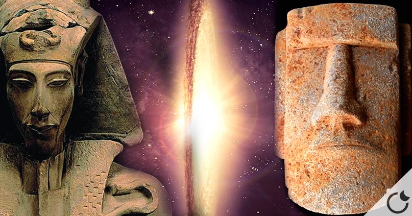 ¿EXISTE una CONEXIÓN entre AKENATÓN y LOS MOAIS?