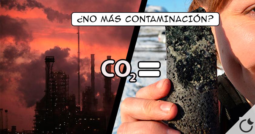 Científicos CONVIERTEN el CO2 en PIEDRA ¿FIN de la CONTAMINACIÓN?