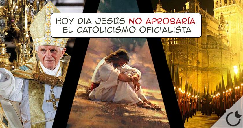 El CRISTIANISMO es una FRANQUICIA que NO FUNDÓ JESUS