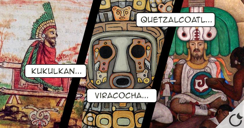 Los dioses de PIEL BLANCA en América Precolombina: ¿Una CONEXIÓN EXTRATERRESTRE?