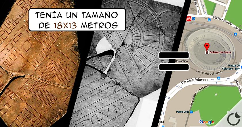 El Google Maps de la Antigua Roma: Forma Urbis Romae. INCREIBLE ¿A QUE SI?