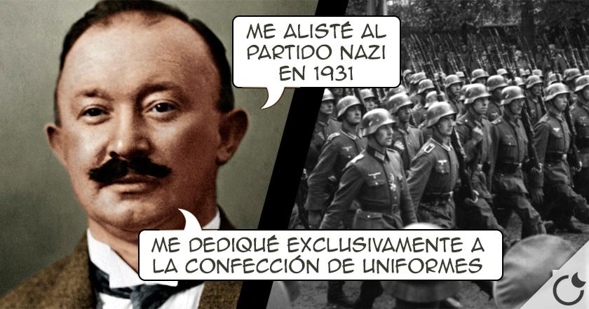Hugo Boss era el FIEL SASTRE que confeccionaba los UNIFORMES NAZIS