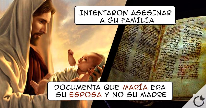 JESÚS tuvo 2 HIJOS y MARÍA era SU ESPOSA NO su MADRE: Manuscrito lo ASEGURA