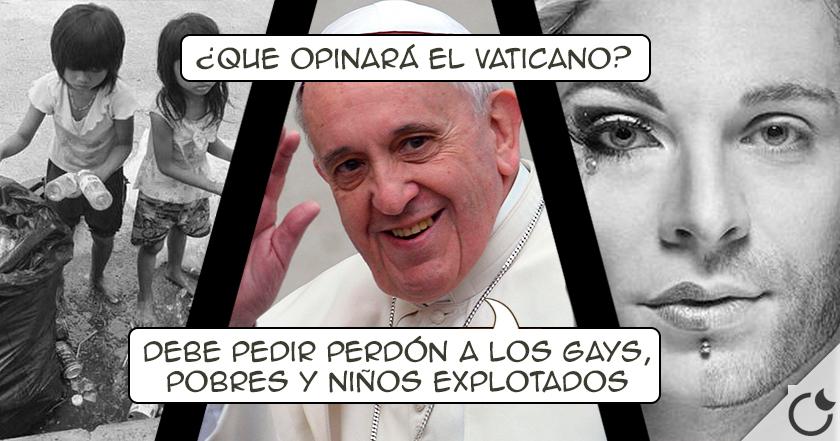 El Papa Francisco, AVERGONZADO, dice que la Iglesia DEBE PEDIR PERDÓN a los gays