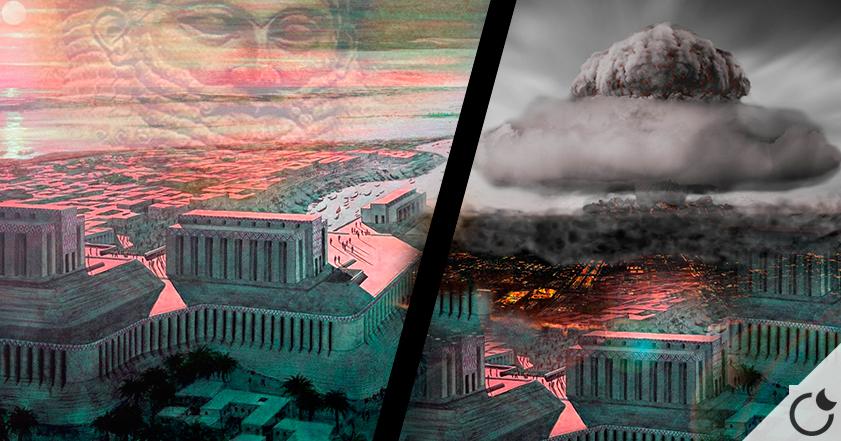 ¿Fue SUMERIA arrasada por BOMBAS NUCLEARES hace 4000 años? Parece que SI