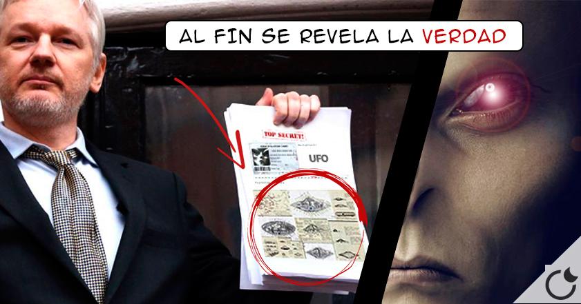 WIKILEAKS revela VIDA EXTRATERRESTRE  documentado OFICIALMENTE