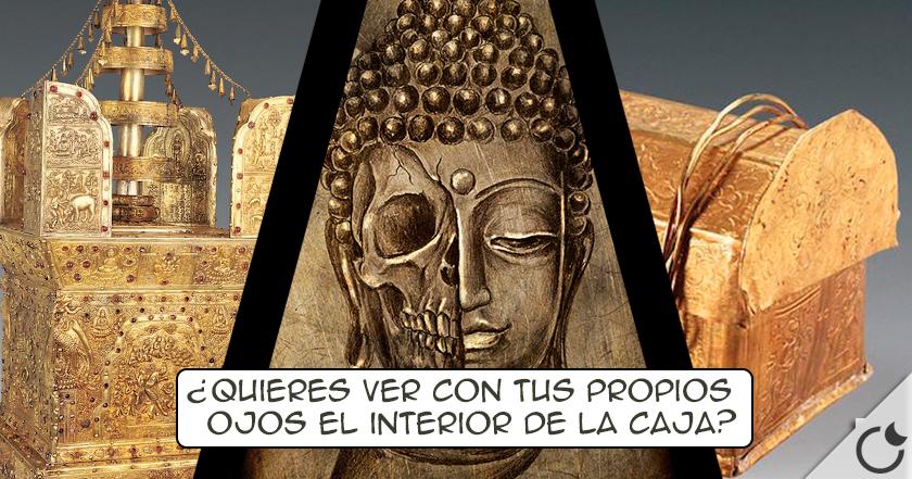 «Descubierto» el CRANEO DE BUDA en el interior de UN TESORO PERDIDO
