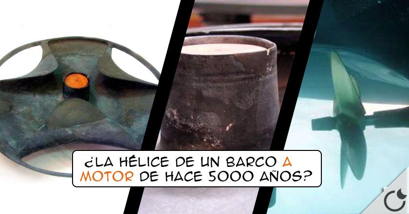 HÉLICE DE SABU: ¿Parte de UN MOTOR ELÉCTRICO EGIPCIO de hace 5000 años? Parece que SI