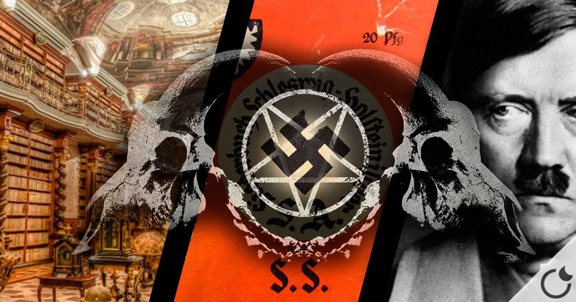 Miles de LIBROS NAZIS de OCULTISMO, BRUJERÍA y MAGIA son  hallados en Praga