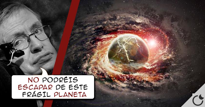La humanidad NO SOBREVIVIRÁ más de MIL AÑOS: Stephen Hawking