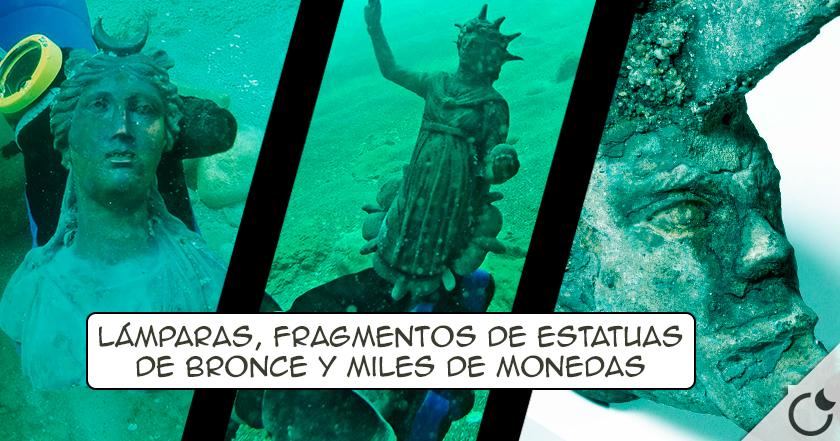 MARAVILLOSO TESORO ROMANO es encontrado en un NAUFRAGIO de hace 1600 AÑOS