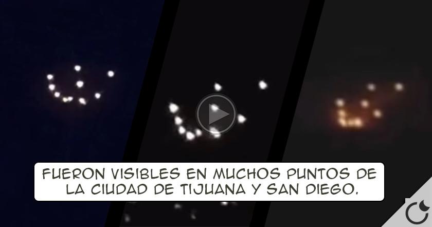 Espectacular avistamiento OVNI en Tijuana y San Diego de última hora deja SIN PALABRAS a los medios