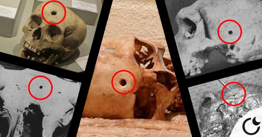 El misterio de los AGUJEROS DE BALA reales EN LA PREHISTORIA ¿Viajeros del tiempo?