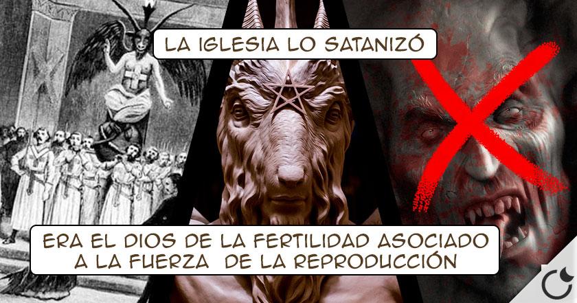 La CABRA NO es símbolo de SATÁN.La iglesia LO INVENTÓ para acabar CON LOS TEMPLARIOS