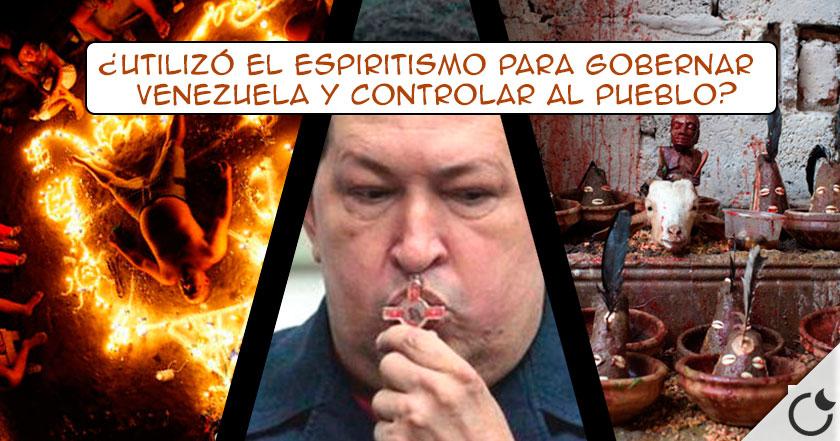 La RELACIÓN EXTREMA de CHAVEZ con la SANTERÍA que cambió su forma de GOBERNAR